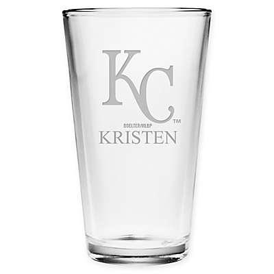 MLB Kansas City Royals Deep Etch Pint Glass