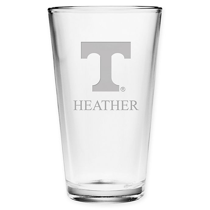 Alternate image 1 for University of Tennessee Deep Etch Pint Glass