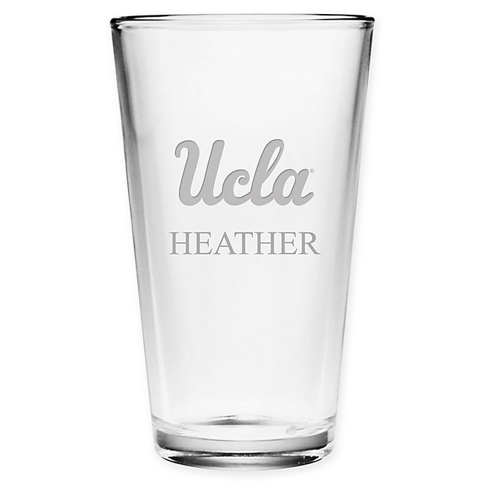 Alternate image 1 for UCLA Deep Etch Pint Glass