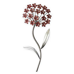 Stylecraft 8-Inch x 20-Inch Metal Flower Wall Art