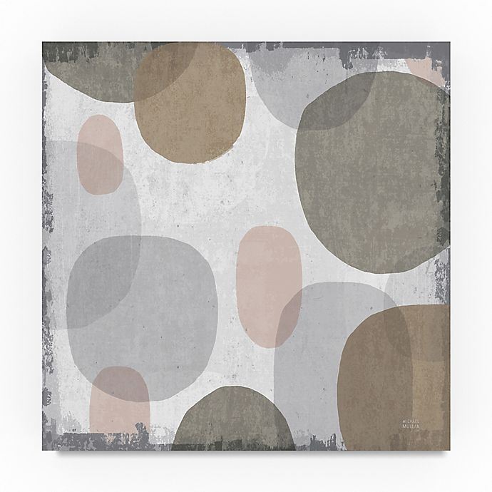 Alternate image 1 for Trademark Fine Art Pastel Drips I 35-Inch Square Canvas Wall Art