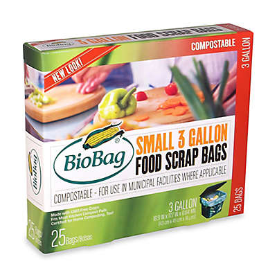 BioBag® 25-Count 3-Gallon Food Waste Bags