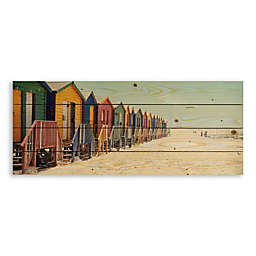 Designs Direct Bright Bathing Boxes 36-Inch x 14-Inch Pallet Wood Art
