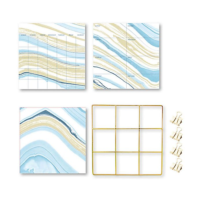 Alternate image 1 for Wallpops!® Crystalline Grid Organization Kit