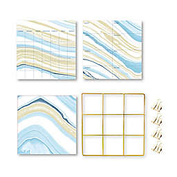 Wallpops!® Crystalline Grid Organization Kit