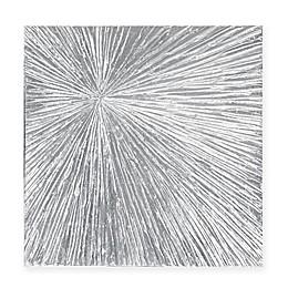 Madison Park Sunburst Palm 30-Inch Round Box Wall Art