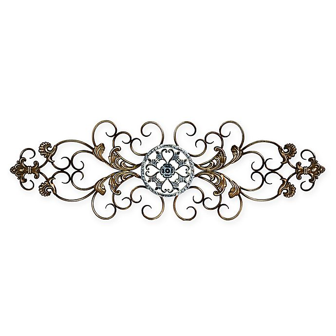 Alternate image 1 for Stratton Home Decor Traditional Scroll Wall Sculpture