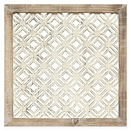 Stratton Home Decor Framed Laser-Cut Wall Art