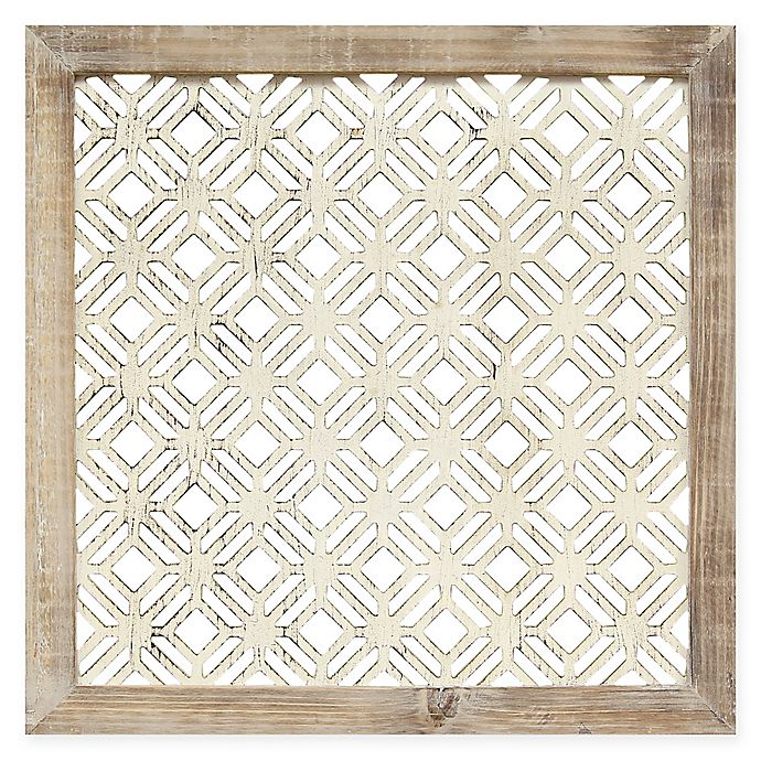 Alternate image 1 for Stratton Home Decor Framed Laser-Cut Wall Art