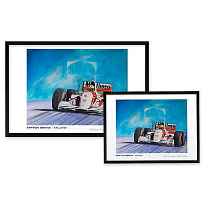 Patrick Faure's Ayrton Senna, McLaren Wall Art