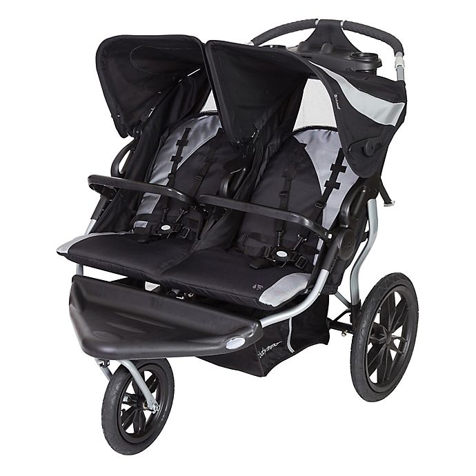 Alternate image 1 for Baby Trend® Navigator Lite Double Jogging Stroller