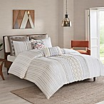 INK+IVY Imani Reversible Full/Queen Comforter Set in Ivory