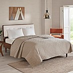INK+IVY Imani Reversible King Coverlet in Aluminum