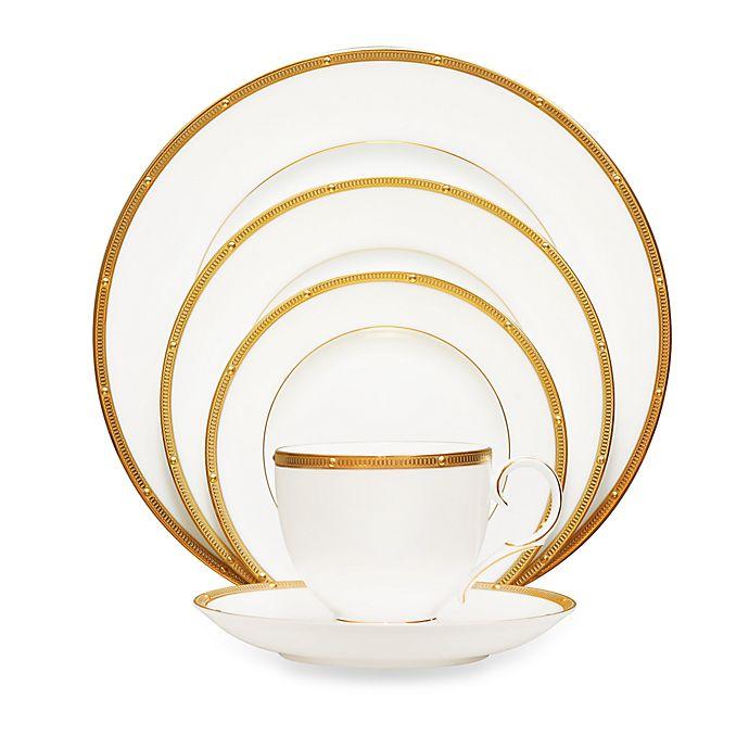Alternate image 1 for Noritake® Rochelle Gold Dinnerware Collection