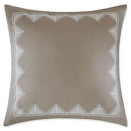 INK+IVY Imani European Pillow Sham in Aluminum