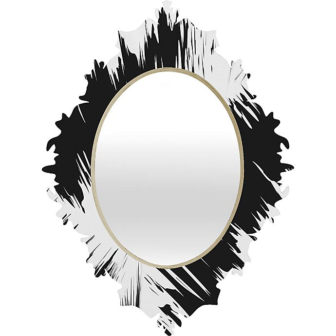 Alternate image 1 for Deny Designs Zags Baroque Wall Mirror