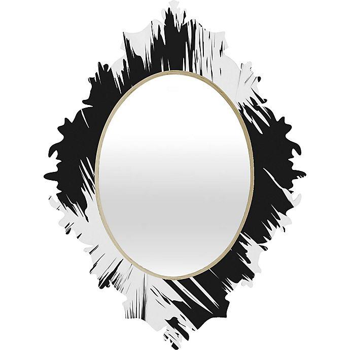 Alternate image 1 for Deny Designs Zags Baroque Medium Wall Mirror
