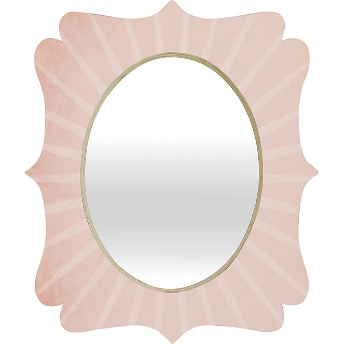 Alternate image 1 for Deny Designs 29-Inch x 22-Inch Quatrefoil Hello Twiggs You Belong With Me Mirror