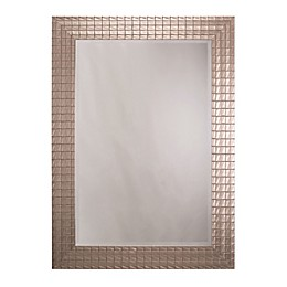 Yosemite Home Décor Wye Incandescent Large Rectangle Mirror
