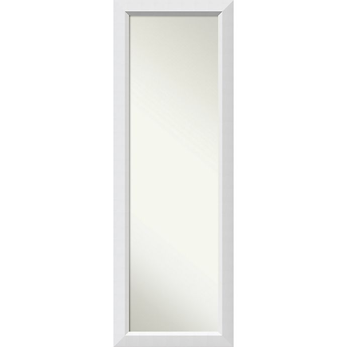 Alternate image 1 for Amanti Blanco Over-the-Door/Wall 18-Inch x 52-Inch Wall Mirror