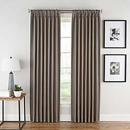 Honeycomb Matelassé Pinch Pleat Window Panel