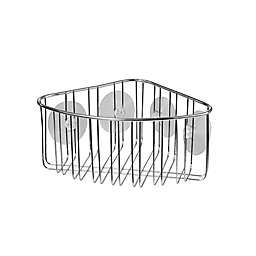 Spectrum Contempo Stainless Steel Suction Corner Basket