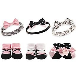 Hudson Baby® 6-Piece Headband and Sock Set