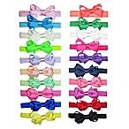 Little Cuties 20-Pack Grosgrain Bow Head Wraps