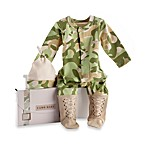 Baby Aspen CamouFlage Size 0 to 6 Months 2-Piece Baby Layette Set