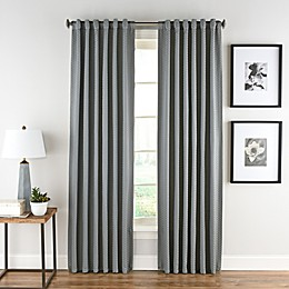 Honeycomb Matelassé Rod Pocket/Back Tab Window Curtain Panel