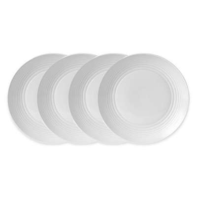 Gordon Ramsay by Royal Doulton® Maze Dinner Plates (Set of 4) in White