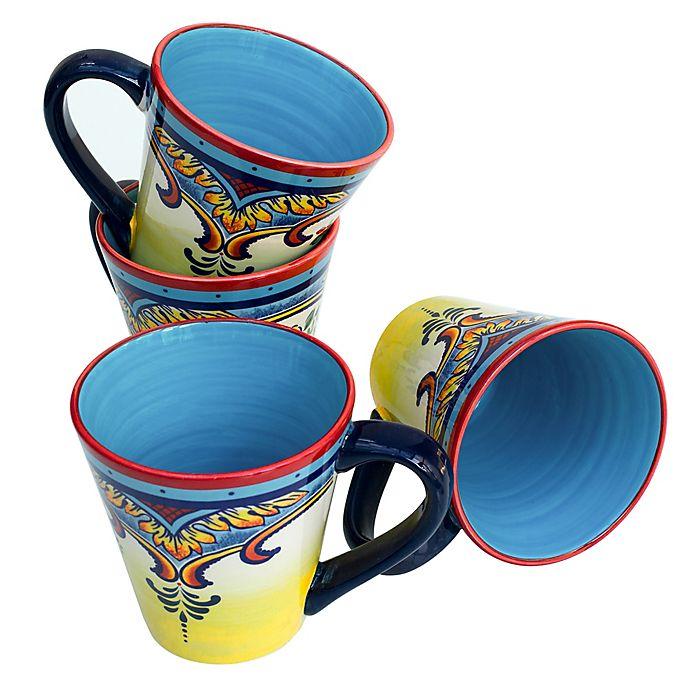 Alternate image 1 for Zanzibar 12-Ounce Mug (Set of 4)