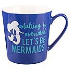 Formations Flare Mermaid Mug in Blue