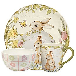 Certified International Bunny Patch by Susan Winget Collection