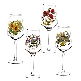 Portmeirion® Botanic Garden 16 oz. Wine Glasses (Set of 4)