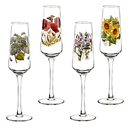 Portmeirion® Botanic Garden 8 oz. Champagne Flutes (Set of 4)