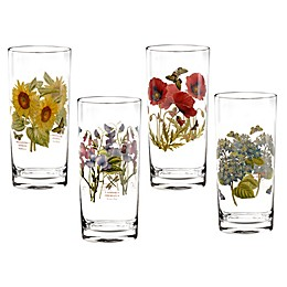 Portmeirion® Botanic Garden 15 oz. Highball Glasses (Set of 4)