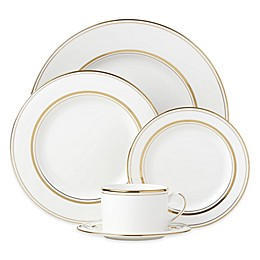 kate spade new york Library Lane Gold™ Dinnerware Collection