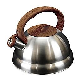 Frigidaire Wood Soft Handle 3.2 qt. Tea Kettle