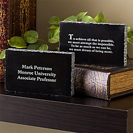 Inspiring Messages Engraved Marble Keepsake