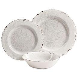 Studio California Mauna 12-Piece Dinnerware Set in White