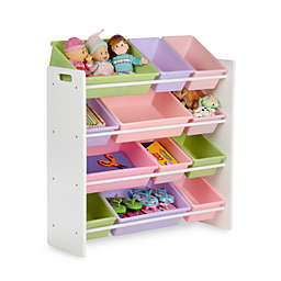 Honey-Can-Do® Kids Toy Organizer and Storage Bins in Pastel