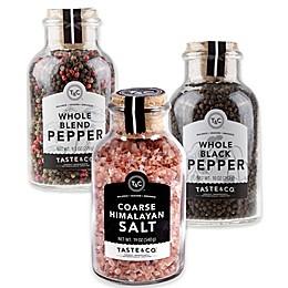Taste & Co. Salt and Pepper Collection