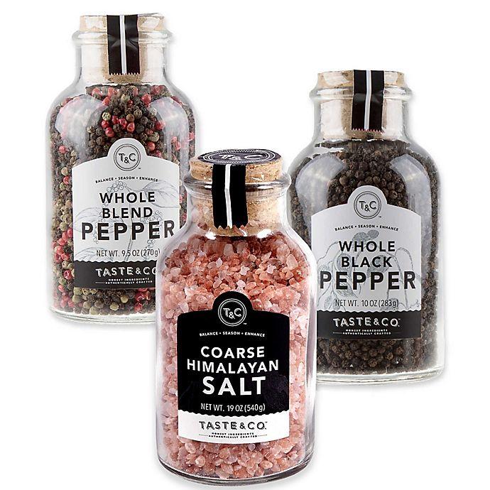 Taste & Co  Salt and Pepper Collection | Bed Bath & Beyond