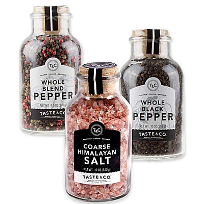 Taste & Co. Salt and Pepper Collection