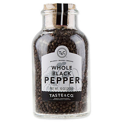 Taste & Co. 10 oz. Black Peppercorns