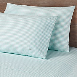 Lacoste Printed Bird Eye Cotton Percale 300-Thread-Count Pillowcases (Set of 2)