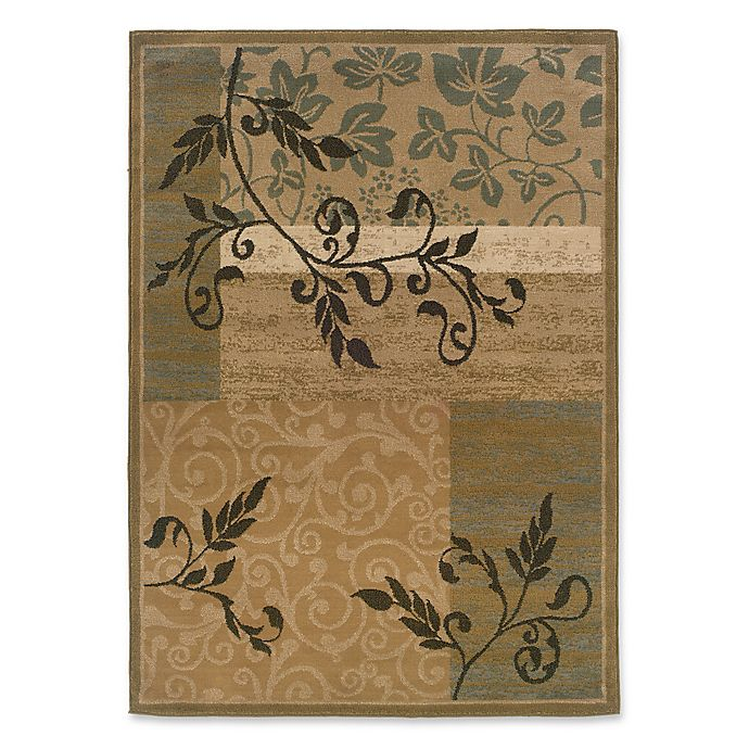 Alternate image 1 for Amaya Rugs Chapman 7-Foot 10-Inch x 10-Foot Area Rug in Gold