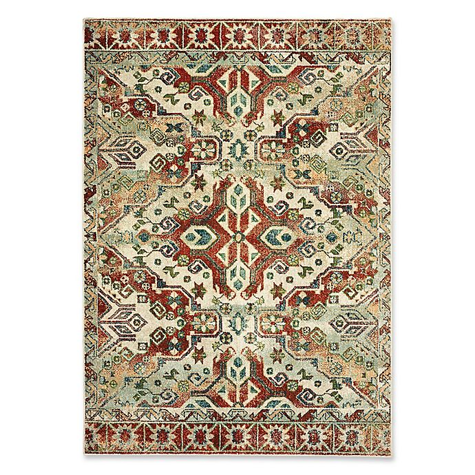 Alternate image 1 for Oriental Weavers Dawson 7'10 x 10'10 Area Rug in Rust