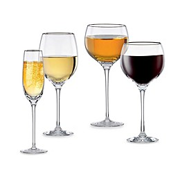 Lenox® Solitaire® Platinum Signature Crystal Wine Glass Collection
